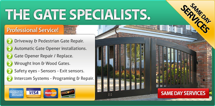 Gate repair Cherokee Strip CA